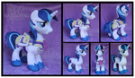 SOLD: Shining Armour Custom Plush by Nazegoreng