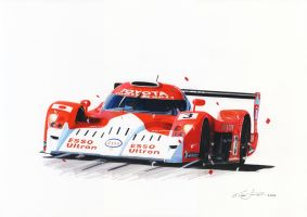 Toyota GT-one by klem