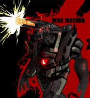 war machine quickie by Xero-Tau