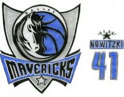 Dallas Mavericks by DirtyD41