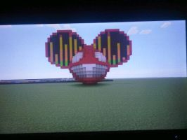 first minecraft mau5head by EmOxFuRrYxRaVe