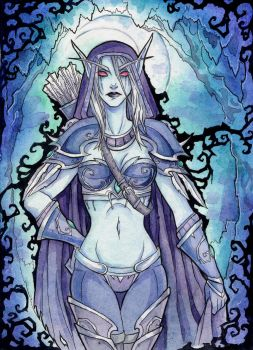 Banshee queen by LadySiryna