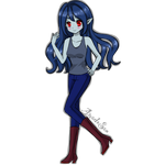 marceline  anime style by veronica1134