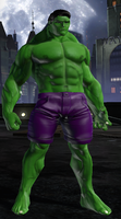 Hulk (DC Universe Online) by Macgyver75