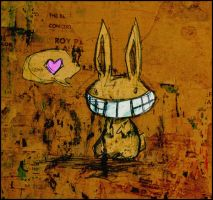 Freaky Bunny Loves You by ffufi