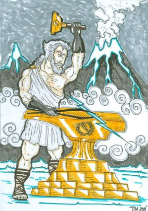 Hephaestus:greek mythology
