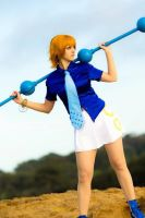 Nami Water 7 Cosplay by JFamily