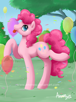 Pinkie Pie by Amenoo