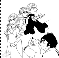 Princess Bride Sketches by tabaotsi