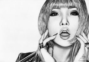 2NE1 Project 3/4 - Minzy by SongYong