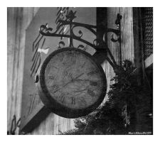 The Slow Tick of Time 2 by Alcamin