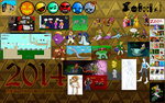 2014: A Year of Art by mortimermcmirestinks
