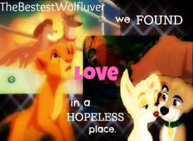 Animash~ We Found Love In A HopeLess Place. by thebestestwolfluver