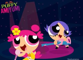 Hi Hi Puffy Ami Yumi PPG Style by ShadowIceman