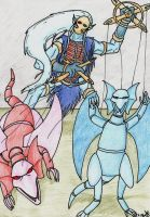 Dendras the puppeteer by Master-Kankuro