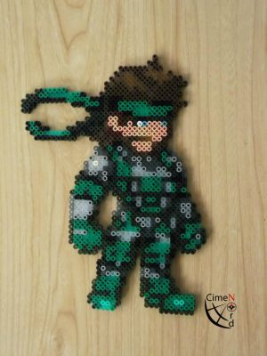 CSW Solid Snake Perler Beads by Cimenord