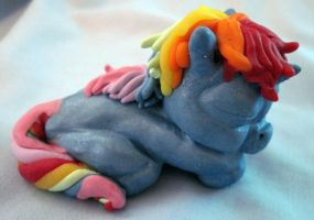 Rainbow Baby Unicorn by Deviant-Candy