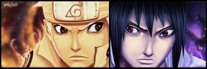 Naruto and Sasuke Power check by Yahik0