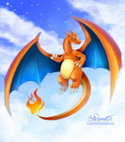 Charizard Charm by tweakfox