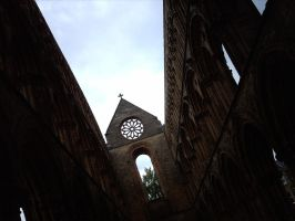 Jedburgh Abbey Ceiling No More by stanto
