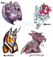More Badges by Ahkahna