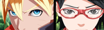 Naruto Gaiden - Boruto and Sarada by X7Rust