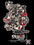 Skullgirls Fan Expo shirt by MajiOMNI