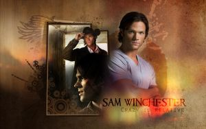Sam Winchester Wallpaper by drkay85