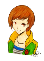 Day 350: Chie by Kitty-xx