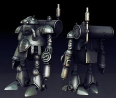 Robo Zbrush by cholbrow