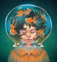 The fishbowl by Chiisa