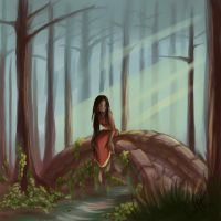 BG Study: My Secret Forest by Dari-Dari