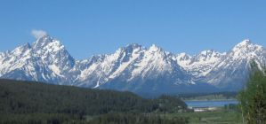 Grand Tetons 2 by lupinelover