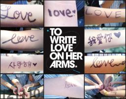 To Write Love on Her Arms by Oweeo
