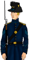 Union Infantry Sergeant 3.0 by Legodecalsmaker961