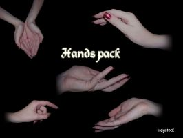 Hand pack by maystock