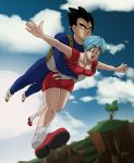 Vegeta x Bulma look for the Dragonballs by WolfKeyren