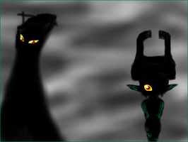 Shadow Midna by Luifex