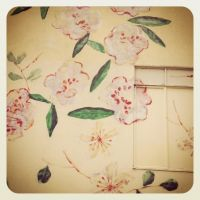 Flowered Wall by Tithos