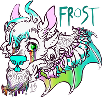 Frost Badge by TECHNlCOLOUR