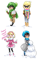 Winter time with Alpha Kids by BlackMayo