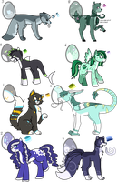Hatched Eggs Batch 1 by Featheries