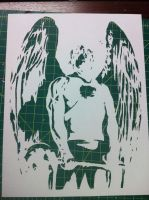 Hawkman ITW by Stencils-by-Chase