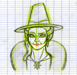 Wicked Witch of the West - Pencil by RwoRomeo