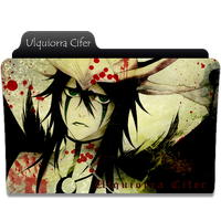 Ulquiorra Cifer Folder Icon by NekoRoklyne