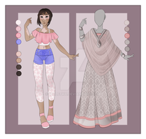 :: September Commission 04: Outfit wardrobe by VioletKy