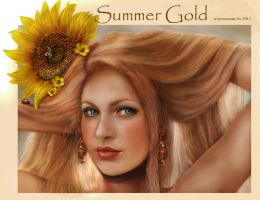 Summer gold revamped by crayonmaniac