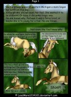 Comic Page One by LeadMare1234321