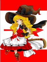 Canadian Themed Marisa by MercuryParadoxica