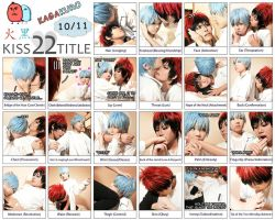 Kagakuro Day - Kiss 22 title by lavena-lav